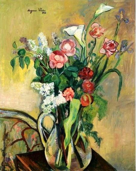 Suzanne Valadon - Bouquet dans un vase
