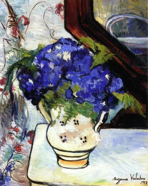 Suzanne Valadon - Bouquet of Parma Violets