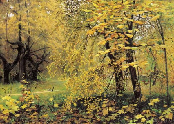 ostrouhov - Golden Autumn