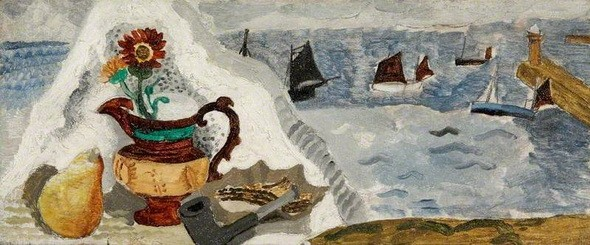 Christopher Wood -  Still Life with Boats