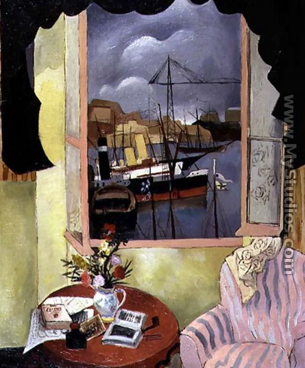 Christopher Wood -  Window at Marseilles