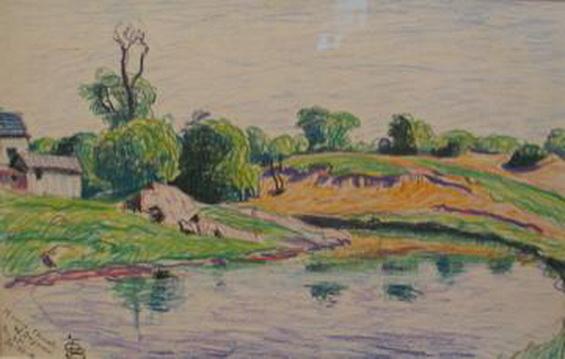 Oscar Bluemner -   Morris Canal