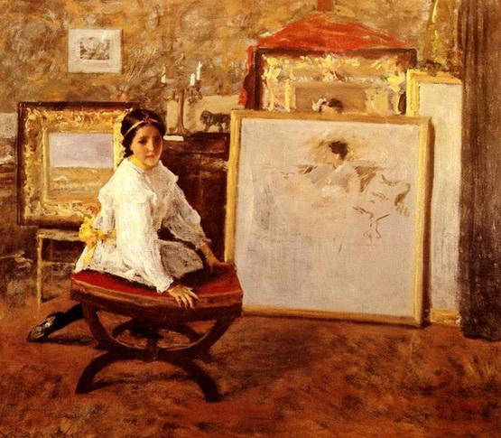 William Merritt Chase 1849-1916 - American Impressionist painter - Tutt'Art@  (31)