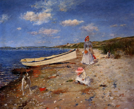 william_merritt_chase_a_sunny_day_at_shinnecock_bay