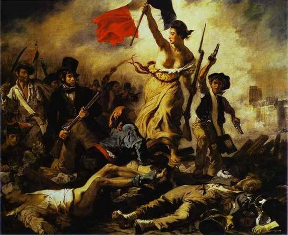 Eugene Delacroix -  La liberte guidant