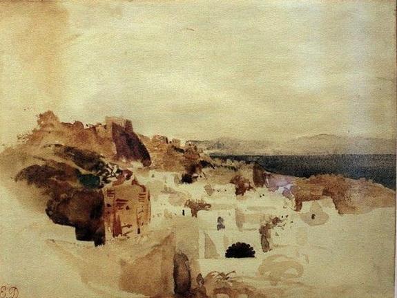 Eugene Delacroix -  Carnet d'un voyage au Maroc