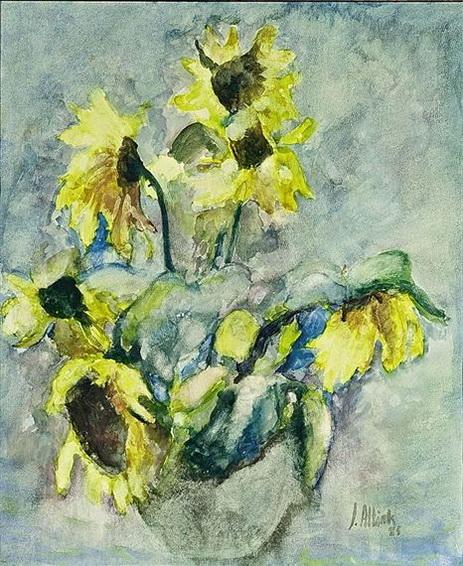 Jan Altink - Sunflowers