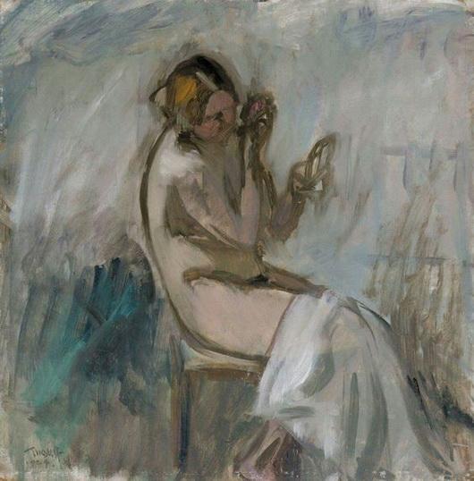 Ellen Thesleff - Model with Mirror