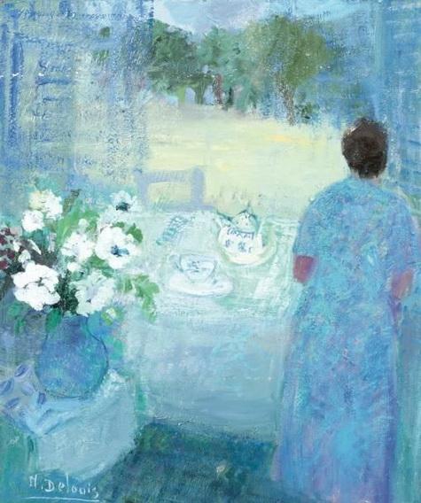 Nancy Delouis - La Lampe Bleue