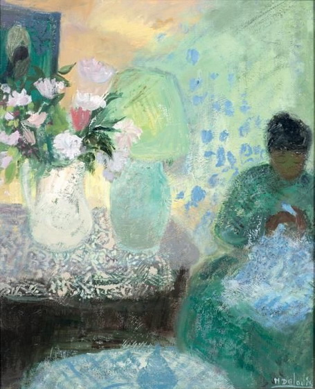 Nancy Delouis - The Girl with the Oil Lamp