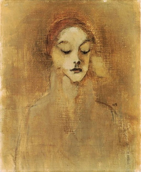 Helene Schjerfbeck- The gatekeeper's daughter