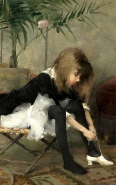 Helene Schjerfbeck- Dancing Shoes