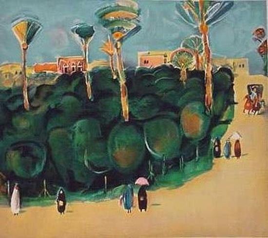 Nahum Gutman - Tamar Garden