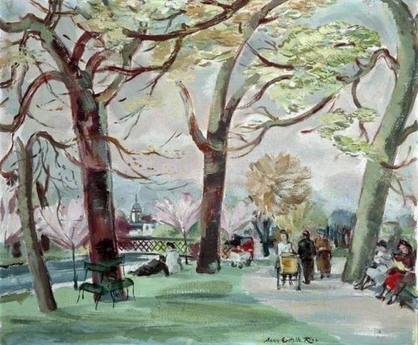 Anne Estelle Rice - Spring, Regent's Park, London