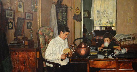 Gustav Wentzel - Breakfast