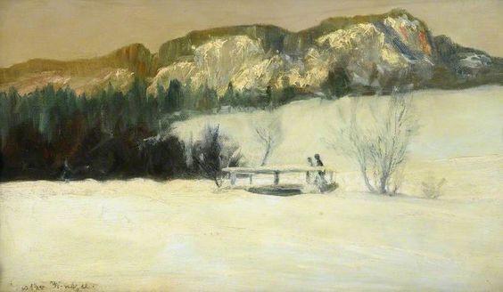 Gustav Wentzel - Winter Landscape 2