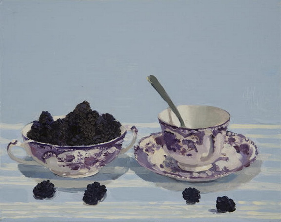 Susan Homer - Blackberries with Tea