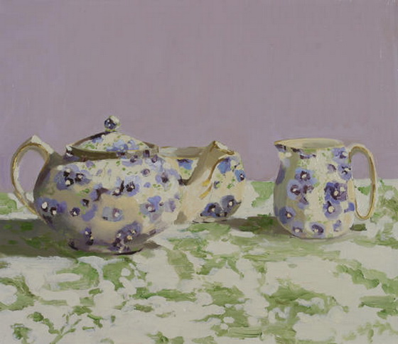Susan Homer - Lavender Tea Set