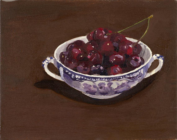Susan Homer - Bowl of Cherries