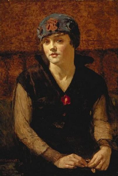 William Brymner - Jeune Fille