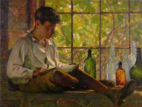 William Brymner - In the Cellar Window