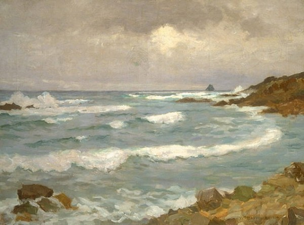 William Brymner - The Coast at Louisbourg
