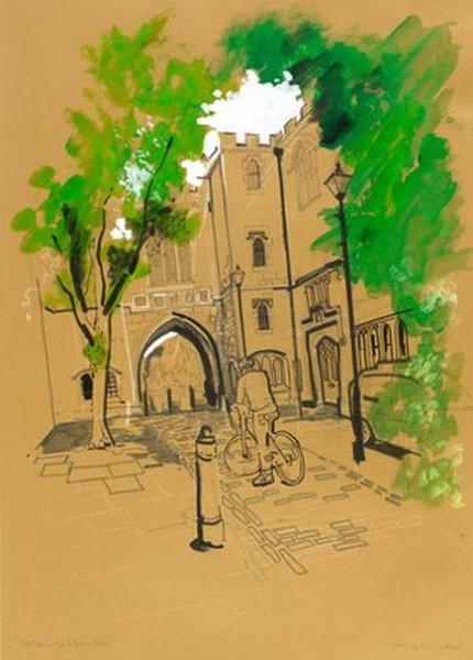 Lyndon Hayes - St John's Gate-St John's Lane