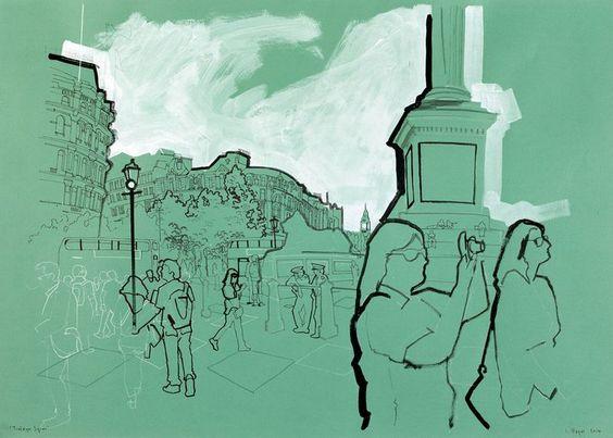 Lyndon Hayes - Trafalgar Square
