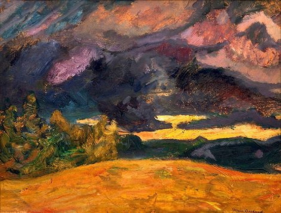 Helmer Osslund -  Landscape from the North