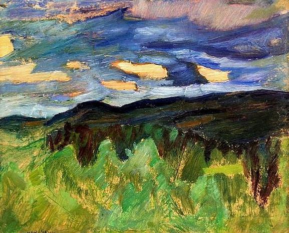 Helmer Osslund - Landscape