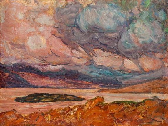 Helmer Osslund - Landscape 2