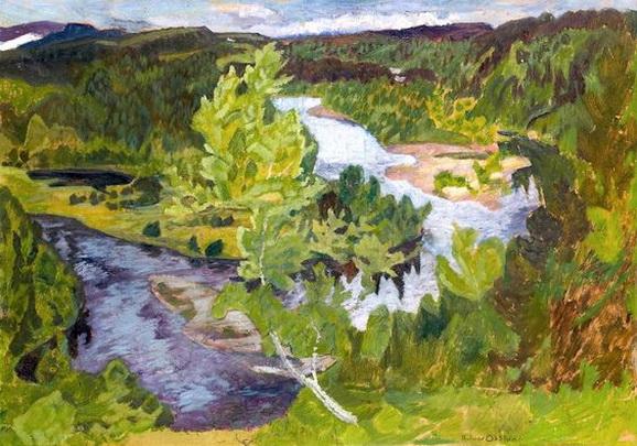 Helmer Osslund - Nordic Landscape