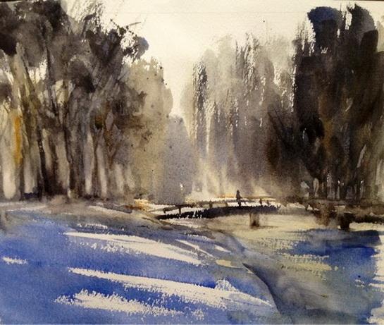 Michele Cooper - Winter Walk