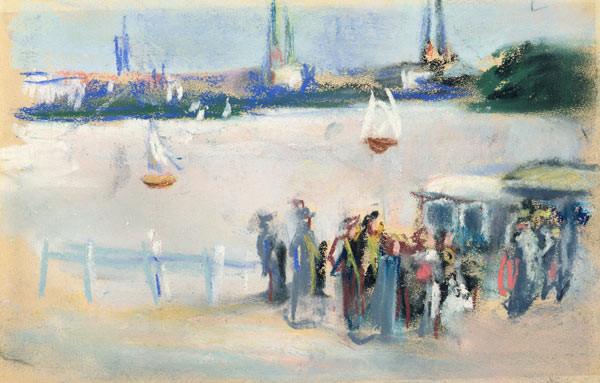 Max Liebermann - View of the Aussenalster
