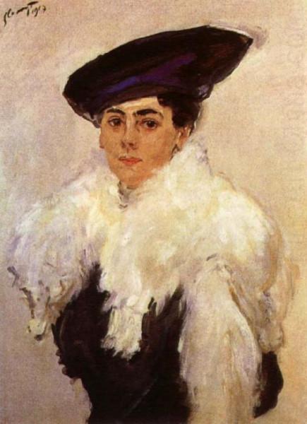 Max Liebermann - Portrait of Mrs