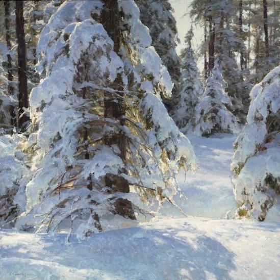 Clyde Aspevig - Winter Glow