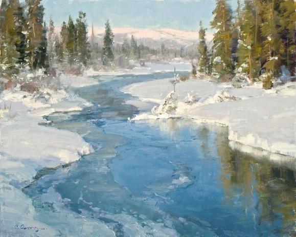 Clyde Aspevig - Frozen Stream