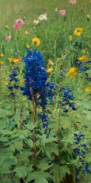 Clyde Aspevig - Flower Garden