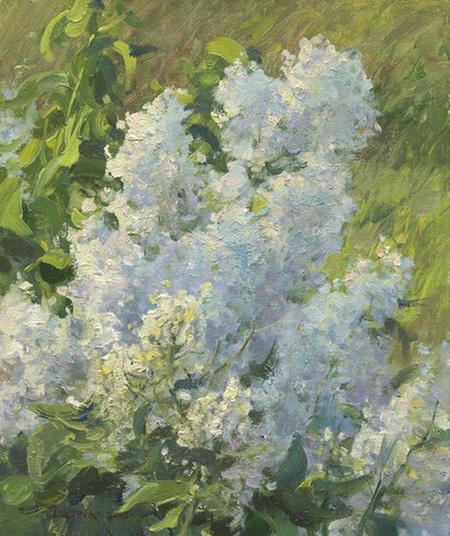 Clyde Aspevig - White Lilacs