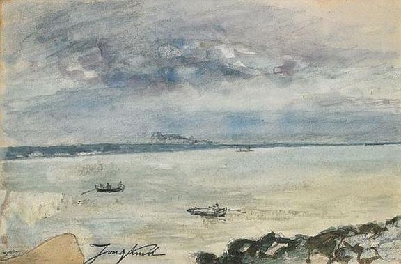Johan Barthold Jongkind - La baie de Seine