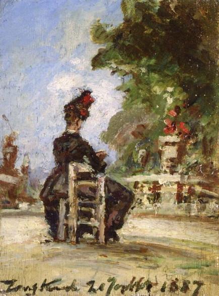 Johan Barthold Jongkind - Le Jardin du Luxembourg