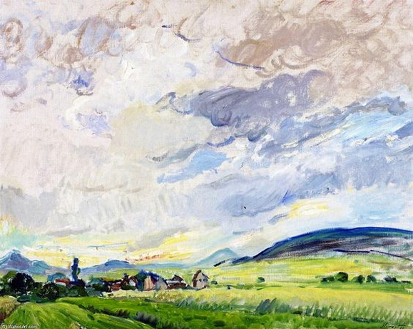 Max Slevogt - Clouds Passing