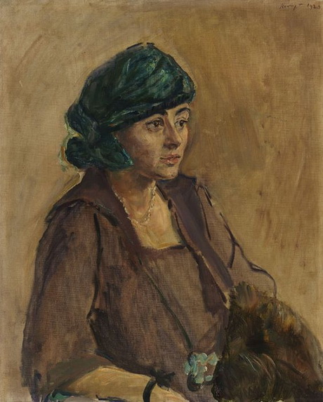 Max Slevogt - Damenbildnis