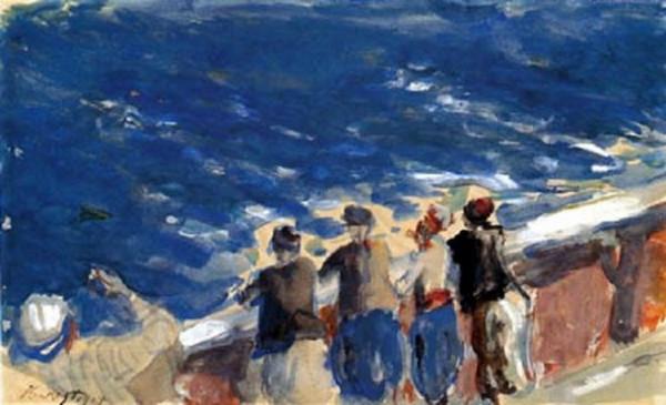 Max Slevogt - Die blaue See