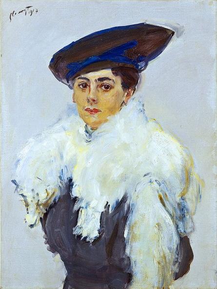 Max Slevogt - Frau Lewin