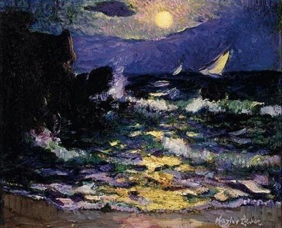 Richard Hayley Lever - Moonrise