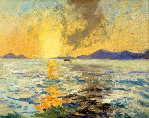 Richard Hayley Lever - Sunset