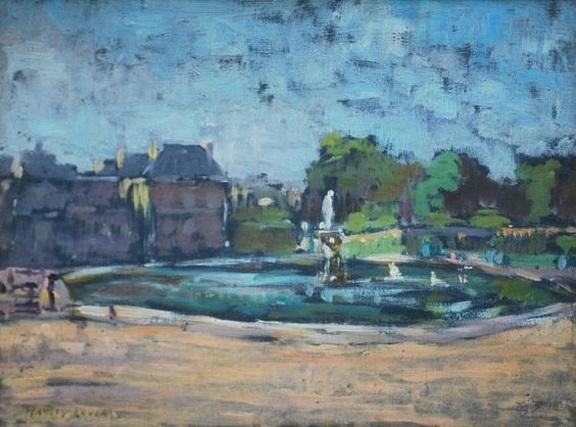 Richard Hayley Lever - Luxembourg Gardens, Paris