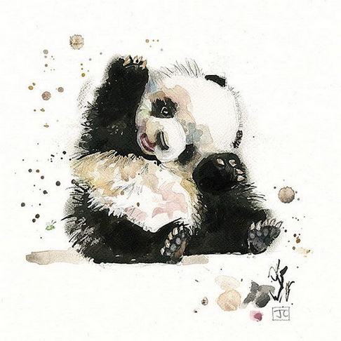 Jane Crowther - Baby Panda