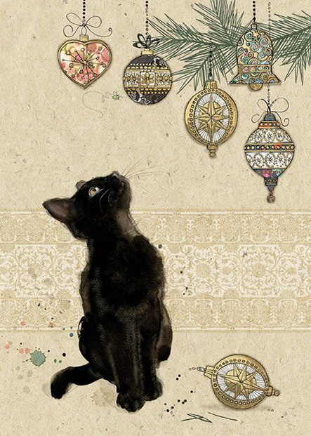 Jane Crowther - KItten Decorations